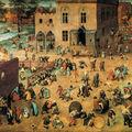 Jeux d'enfants_Pieter Brueghel l'Ancien 1560