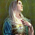 Litanie du Cœur douloureux et immaculé de <b>Marie</b>