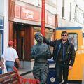 Moi, TT 1996, dans les rues de Douglas