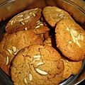 Cookies amandes chocolat blancs