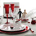 Ma table saint valentin