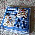 Plaid et Quilt pillow...
