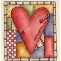 Un coeur R