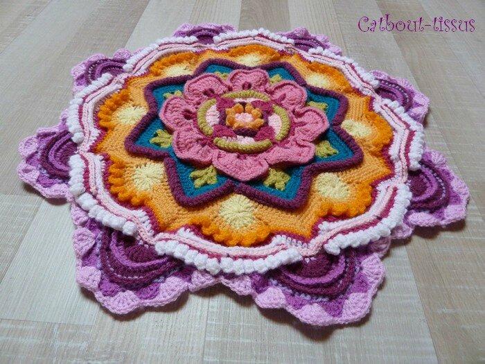 Mandala 5 relief
