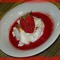 Kkvkvk n°11...iles flottantes rhubarbe-fraise