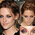 <b>Maquillage</b> inspiré de Kristen Stewart
