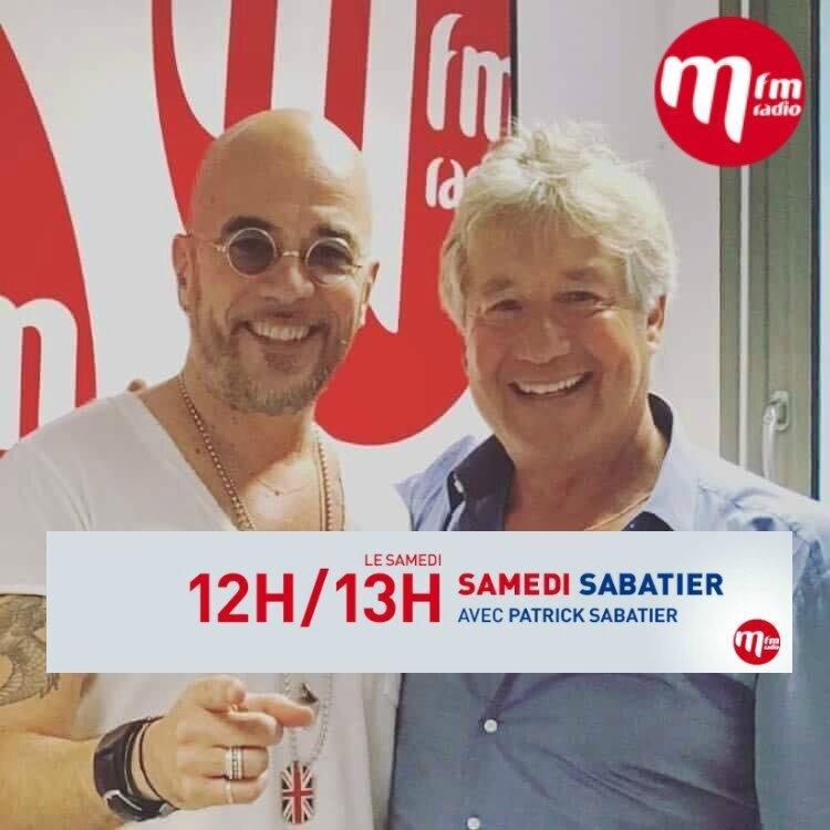 "[PODCAST] Pascal Obispo ""Samedi Sabatier"" sur MFM Radio"
