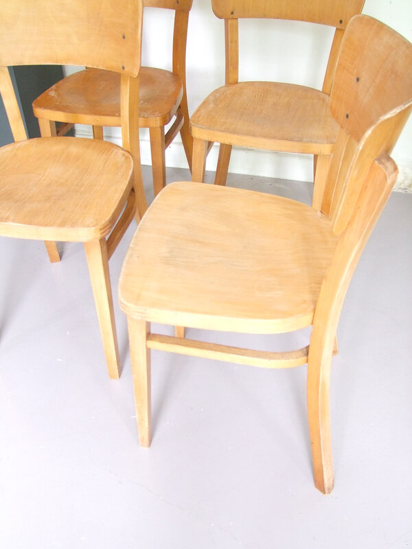 Chaises vintage Thonet
