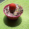 Cup cake chocolat tagada