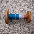 Fractal spinning et recyclage de bouts de fils