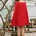Le défi de la robe cape!