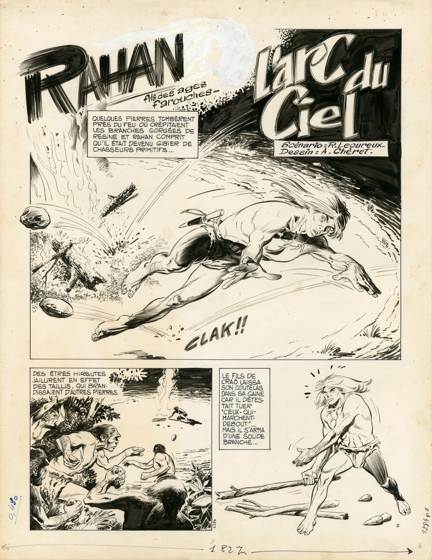 RAHAN exposition planches originales