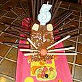Le gâteau d'anniversaire... et le