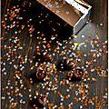 ☆ calendrier de l'avent : 1 surprise par jour ☆ jour 15 : bonbons de chocolat fourrés ganache chocolat au lait et citron