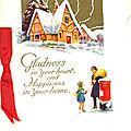 Les vœux de Marjorie et de Nilette à Denise, 25 décembre 1930