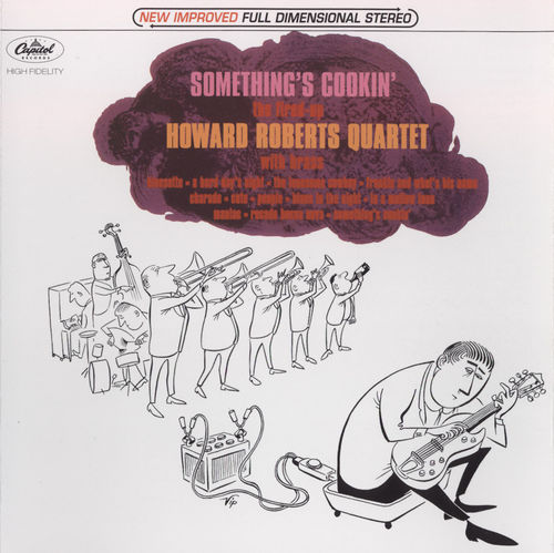 Howard Roberts Quartet With Brass - 1964 - Something's Cookin' (Capitol)