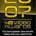 Les vidéos du web récompensées