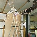 CONSTRUCTIONS DES CHARS POUR LE DEFILE 2011