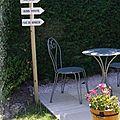 Pancartes jardin