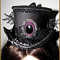 Mini chapeau haut de forme