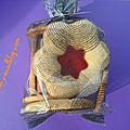 Paquets cadeaux biscuits vitraux