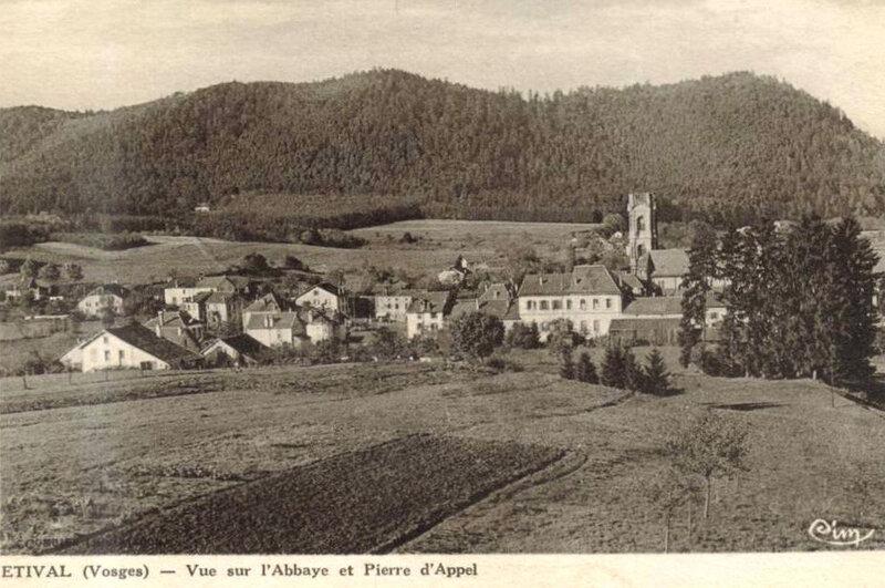 Étival (Vosges), Pierre d'Appel et bois de Répy
