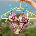 Le bikini granny de valentine....