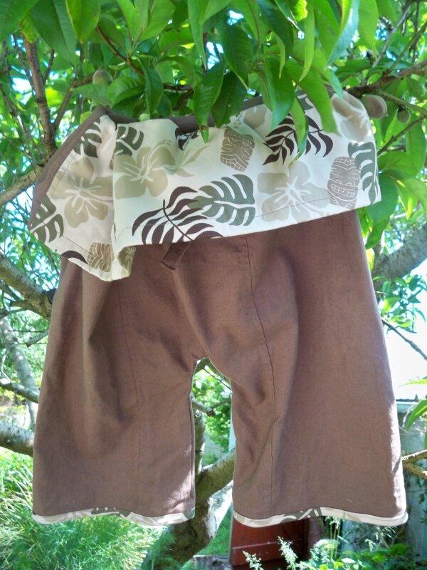 Pantalon de pêcheur