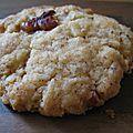 Cookies vanille noix de pécan