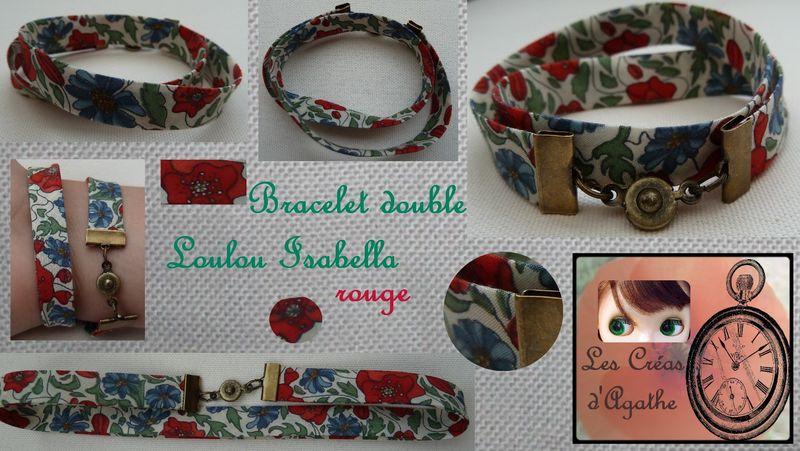 Bracelet double Liberty Loulou Isabella