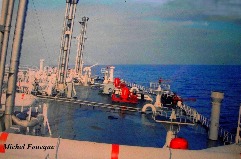 essai en mer du Edouard LD
