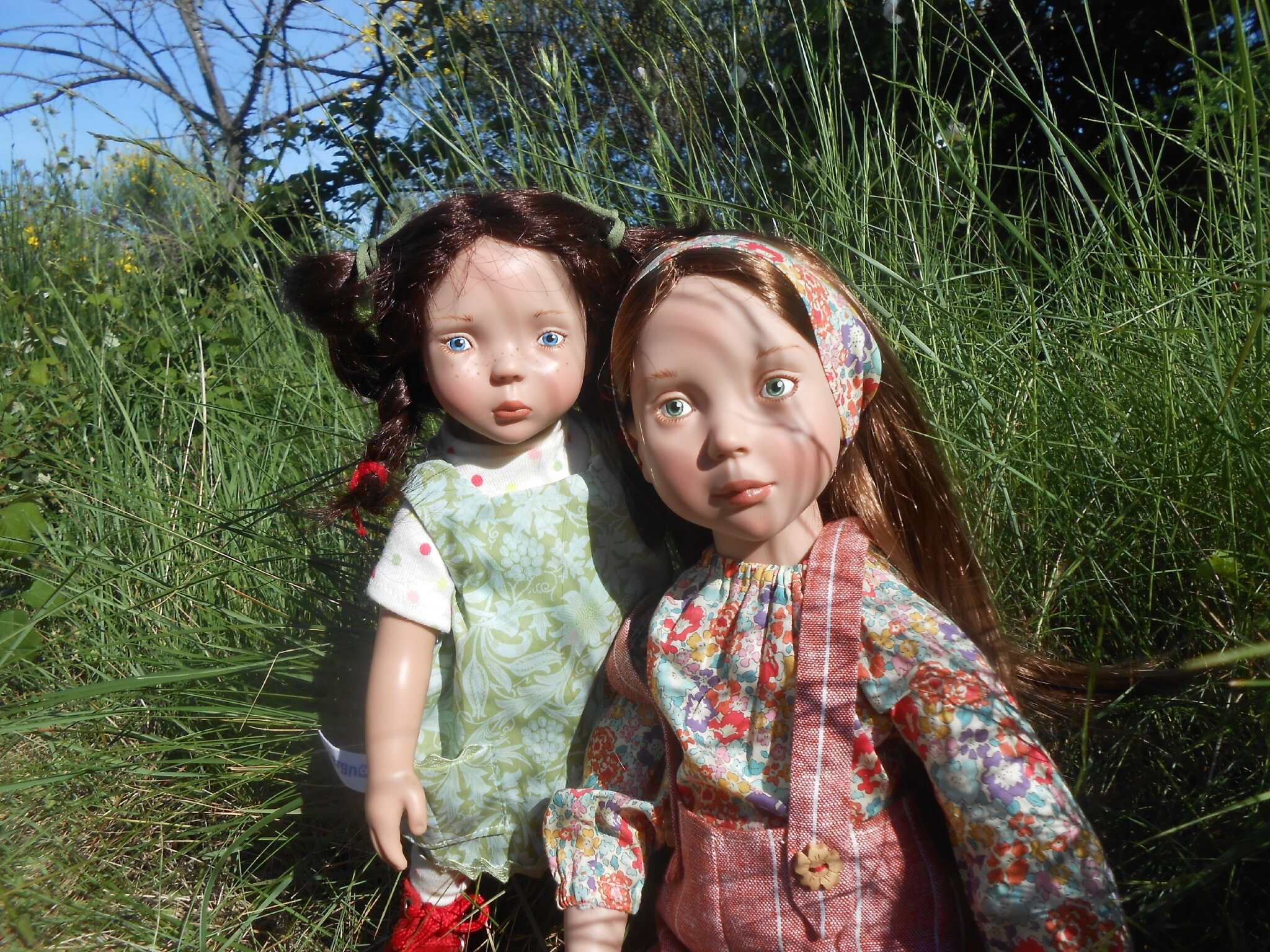 Eglantine et Lilas