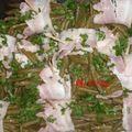 Fagots de haricots verts