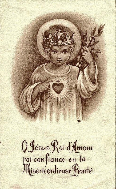Enfant Jésus Roi d'Amour