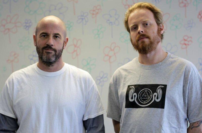 James-Frey-author-photo-with-Nils-Johnson-Shelton