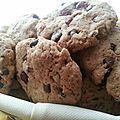Cookies moelleux aux cranberries et pépites de chocolat