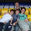 Banc gradin Camp Nou (Barcelone, avril 2011)