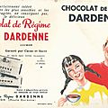 <b>Buvard</b> chocolat Dardenne vintage