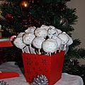 Noël 2012 - n°17 - popcakes boules de neige !
