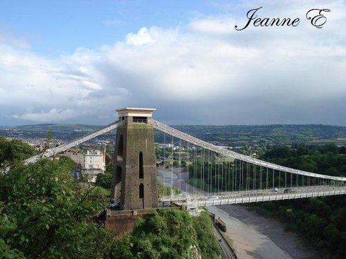 pont suspendu à Bristol