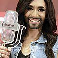AUTRICHE <b>2014</b> : 1 mois après son sacre, Conchita est toujours aussi populaire ... !!