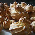 Chouquettes vanillées au sucre perlé de mini tambouille 1