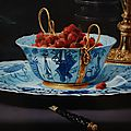 Frans Snijders, Still Life with Fruit, Porcelain and a Squirrel, <b>1616</b>