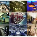 Coolest subway designs around the globe