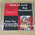 CD promotionnel One Piece Film Z Bad Reputation/How You Remind Me-Japon (2012)