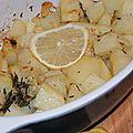 Phare de saint-mathieu, 180 ans, 163 marches et un plat de pommes de terre rôties au citron, au thym et à l'huile d'olive
