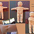 Défi 1ère poupée : le modelage du corps