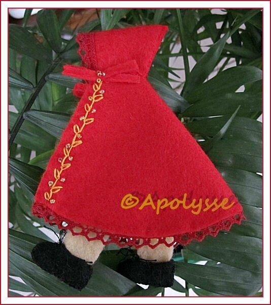 Chaperon Rouge de Josy d'Apolysse