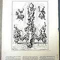Gravure de fontaine de 1593 - Wendel DIETTERLIN - planche n°66 de l'Art pour tous 3ème année (1863)