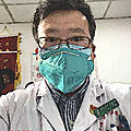 Le docteur Li Wenliang, lanceur d'alerte de l'épidémie de coronavirus